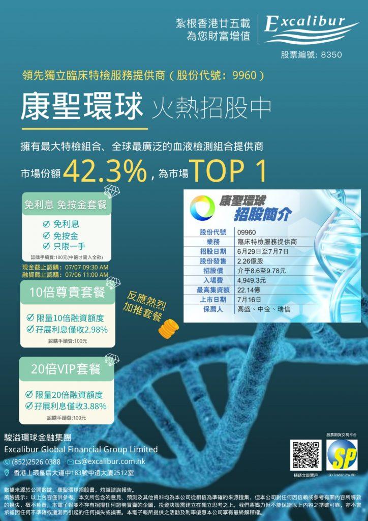 康聖環球基因